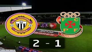 I Liga (13ªJ): Resumo CD Nacional 2-1 FC P.Ferreira