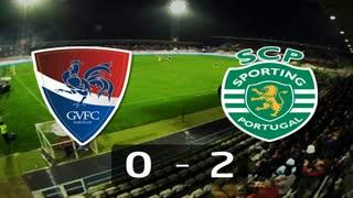 I Liga (12ªJ): Resumo Gil Vicente FC 0-2 Sporting CP