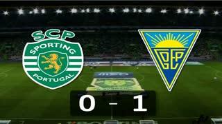 Liga (30.ª J): Resumo Sporting 0-1 Estoril