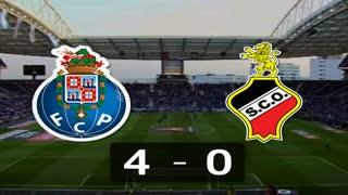 Liga (14.ª Jornada): Resumo FC Porto 4-0 Olhanense