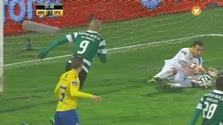 Sporting CP, Jogada, Slimani aos 58'