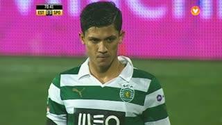 Sporting CP, Jogada, Montero aos 70'
