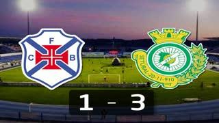 Liga (23ª J): Resumo Belenenses 1-3 V. Setúbal