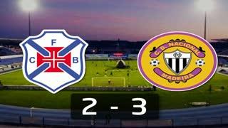 Liga (3ª J): Resumo Belenenses 2-3 Nacional