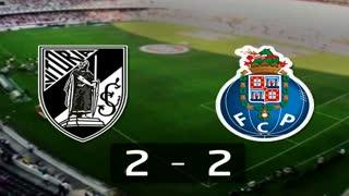 Liga (21.ª J): Resumo V. Guimarães 2-2 FC Porto