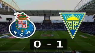Liga (20ª J): Resumo FC Porto 0-1 Estoril