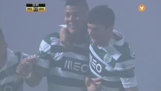 GOLO! Sporting CP, Marcos Rojo aos 33', FC P.Ferreira 0-2 Sporting CP