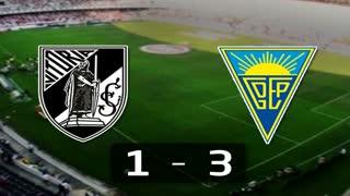 I Liga (26ªJ): Resumo Vitória SC 1-3 Estoril Praia