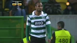 Sporting CP, Jogada, Montero aos 21'