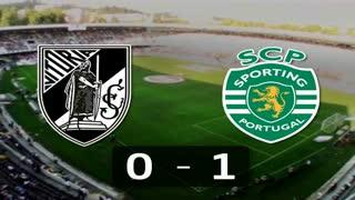 I Liga (10ªJ): Resumo Vitória SC 0-1 Sporting CP