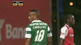SC Braga, Jogada, Carrillo aos 18'