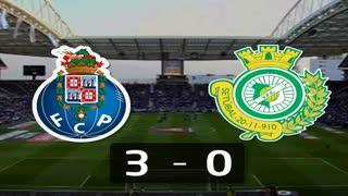 I Liga (16ªJ): Resumo FC Porto 3-0 Vitória FC