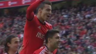 GOLO! SL Benfica, Rodrigo aos 20', SL Benfica 2-0 Estoril Praia
