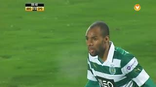 Sporting CP, Jogada, Wilson Eduardo aos 9'