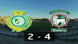 I Liga (4ªJ): Resumo Vitória FC 2-4 Marítimo M.