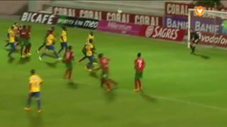GOLO! Estoril Praia, Luís Leal aos 62', Marítimo M. 1-2 Estoril Praia