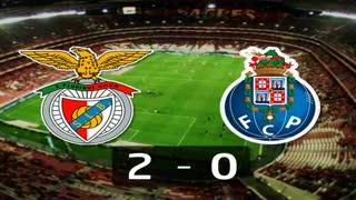 I Liga (15ªJ): Resumo SL Benfica 2-0 FC Porto
