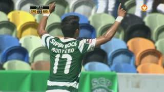 GOLO! Sporting CP, Montero aos 37', Sporting CP 2-1 FC Arouca