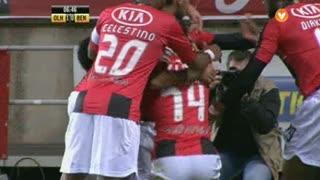 GOLO! SC Olhanense, Femi Balogun aos 7', SC Olhanense 1-0 SL Benfica