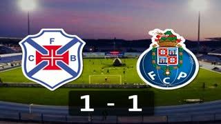 I Liga (9ªJ): Resumo Belenenses 1-1 FC Porto