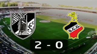 Liga (1ª J): Resumo V. Guimarães 2-0 Olhanense