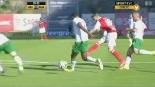 SC Braga, Jogada, Rafa Silva aos 21'