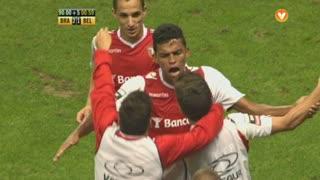 GOLO! SC Braga, Aderllan Santos aos 90', SC Braga 2-1 Belenenses