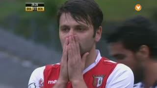 SC Braga, Jogada, Rusescu aos 30'