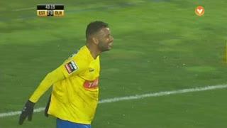 GOLO! Estoril Praia, João Pedro Galvão aos 43', Estoril Praia 2-0 SC Olhanense