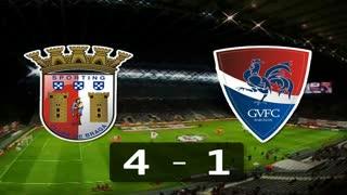 I Liga (18ªJ): Resumo SC Braga 4-1 Gil Vicente FC