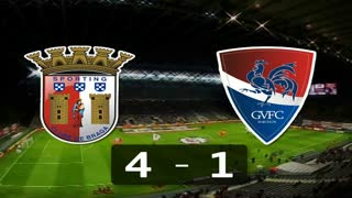Liga (18ª Jornada): Resumo Sp. Braga 4-1 Gil Vicente