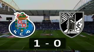 Liga (6ª J): Resumo FC Porto 1-0 V. Guimarães