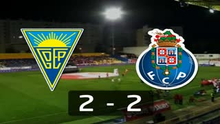 I Liga (5ªJ): Resumo Estoril Praia 2-2 FC Porto