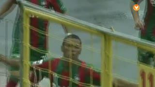 GOLO! , Derley aos 3', Marítimo M. 1-0 FC P.Ferreira