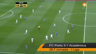 I Liga (26ªJ): Resumo FC Porto 3-1 A. Académica