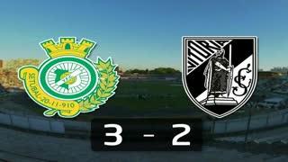 Liga (18.ª J): Resumo V. Setúbal 3-2 V. Guimarães