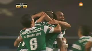 GOLO! Sporting CP, Marcos Rojo aos 42', A. Académica 0-2 Sporting CP