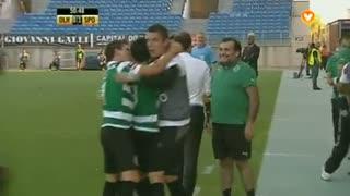 GOLO! Sporting CP, Montero aos 50', SC Olhanense 0-1 Sporting CP