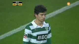 Sporting CP, Jogada, André Martins aos 8'