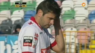 SC Braga, Jogada, Rusescu aos 3'