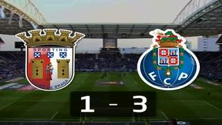 Liga (27.ª J): Resumo Sp. Braga 1-3 FC Porto