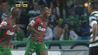 GOLO! Marítimo M., Héldon aos 45', Sporting CP 1-2 (g.p.) Marítimo M.