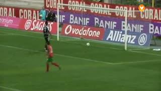 GOLO! Marítimo M., Héldon aos 11', Marítimo M. 1-0 CD Nacional