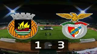 I Liga (11ªJ): Resumo Rio Ave FC 1-3 SL Benfica