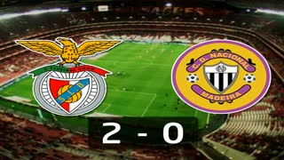 Liga (8ª J): Resumo Benfica 2-0 Nacional