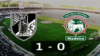 I Liga (7ªJ): Resumo Vitória SC 1-0 Marítimo M.