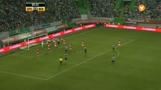 Sporting CP, Jogada, Salvio aos 4'
