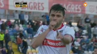GOLO! SC Braga, Rusescu aos 83', SC Olhanense 0-1 ( SC Braga