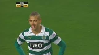 Sporting CP, Jogada, Slimani aos 37'