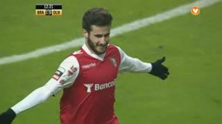GOLO! SC Braga, Rafa Silva aos 13', SC Braga 2-0 SC Olhanense